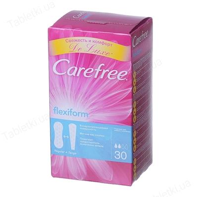 CAREFREE прокладки ежедневные Flexi Form №30