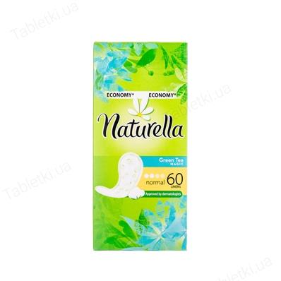 NATURELLA GREEN TEA MAGIC прокладки ежедневные Normal №60