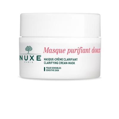 Крем-маска Nuxe очищающая для лица, для всех типов кожи, 50 мл