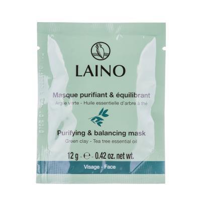 LAINO маска д/лица очищающая регулирующая по 12 г в саше