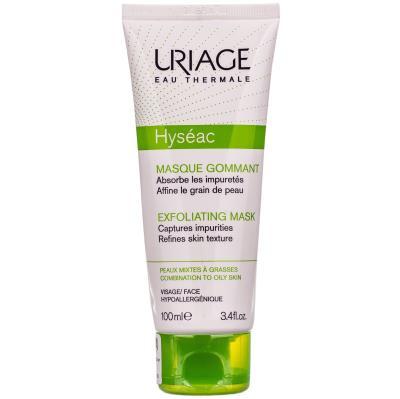 URIAGE HYSEAC маска-эксфолиант д/лица по 100 мл в тубах