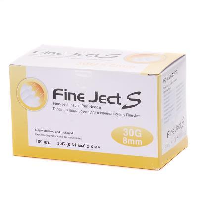 ИГЛА Fine Ject S д/инсул. шприц-ручек G 30 (0,31 х 8мм)