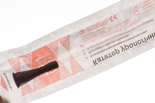 КАТЕТЕР УРОЛОГИЧЕСКИЙ JS тип Нелатон жен. р. 10 черный