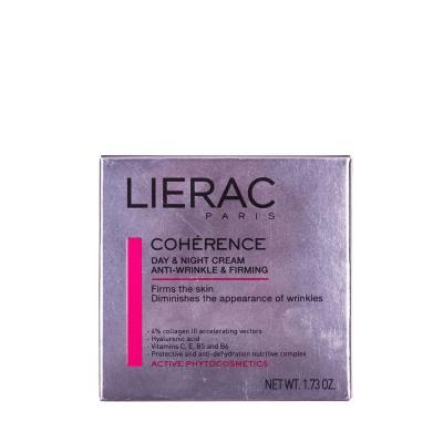 LIERAC COHERENCE крем д/лица п/морщин д/увелич. упругости по 50 мл в бан.