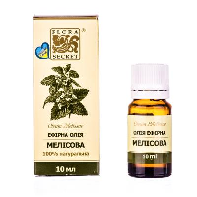 FLORA SECRET масло эфирное Мелиса по 10 мл во флак.
