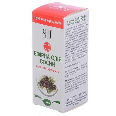 911 масло эфирное Сосна по 10 мл во флак.