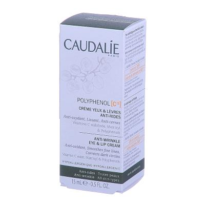 CAUDALIE POLYPHENOL C 15 крем д/контура глаз/губ п/морщин по 15 мл в тубах