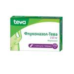 Флуконазол-Тева капсулы тв. по 150 мг №1