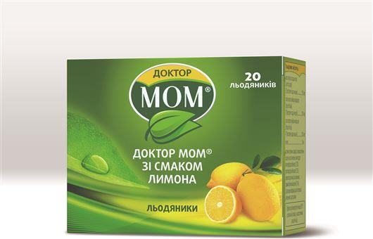 Доктор мом со вкусом лимона леденцы №20 (4х5)