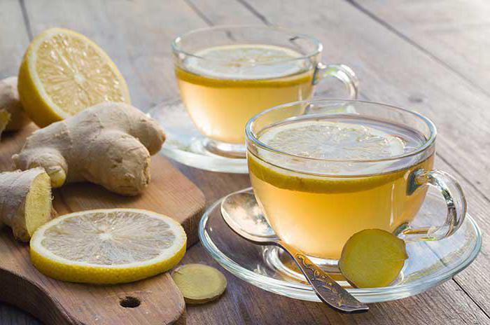 Как работает имбирный чай для похудения