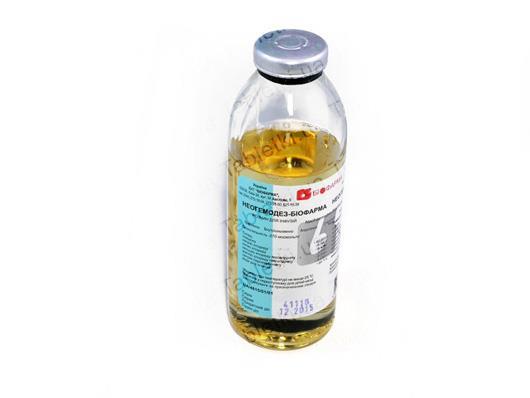 Неогемодез-Биофарма раствор д/инф. по 200 мл в бутыл.