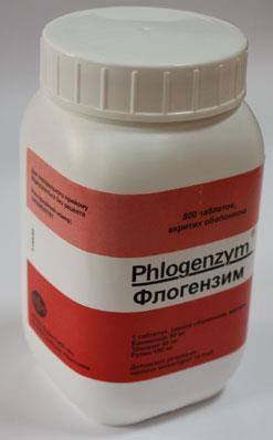 Флогэнзим таблетки, п/о №800 в бан.