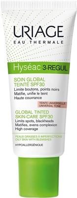 Крем тональный Uriage Hyseac 3-Regul универсальный уход, SPF 30, 40 мл