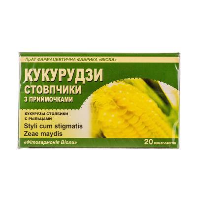 Кукурузы столбики с рыльцами по 1.5 г №20 в фил.-пак.