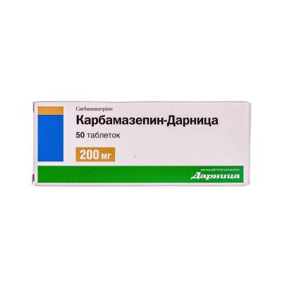 Карбамазепин-Дарница таблетки по 200 мг №50 (10х5)