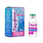 Тауфон капли глаз. 40 мг/мл по 10 мл во флак.
