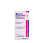 Депакин хроно 500 мг