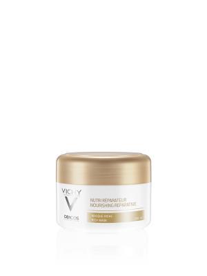Маска Vichy Dercos насыщенная, питательно-восстанавливающая, для сухих и поврежденных волос, 200 мл