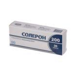Солерон 200 таблетки по 200 мг №30 (10х3)