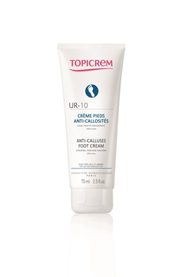 Крем для ног Topicrem UR10/PV от натоптышей и мозолей, 75 мл