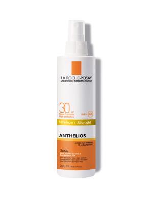 Спрей солнцезащитный La Roche-Posay Anthelios для чувствительной к воздействию солнца кожи, SPF 30, 200 мл