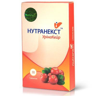 УРИНАКЕЙР НУТРАНЕКСТ таблетки №30 (15х2)