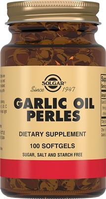 Solgar Чесночное масло Перлес, 100 капсул