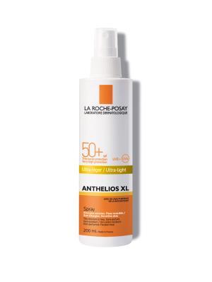 Спрей солнцезащитный La Roche-Posay Anthelios для чувствительной к солнцу кожи, водостойкий, SPF50+, 200 мл