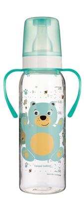 """Бутылочка Canpol Babies """"Цветная ферма"""" BRA Free 11/845 с рисунком и ручкой, 250 мл"""