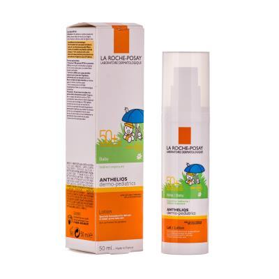 Молочко солнцезащитное La Roche-Posay Anthelios Dermo-Pediatrics для чувствительной кожи младенцев, SPF50+, 50мл