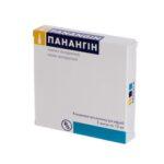 Панангин концентрат для р-ра д/инф. по 10 мл №5 в амп.
