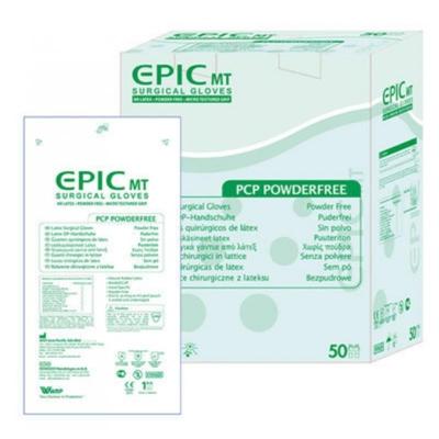 Перчатки хирургические Epic MT латексные без пудры, микротекстурированные, размер 7,0 стерильные, пара