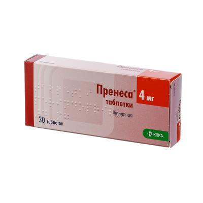 Пренеса таблетки по 4 мг №30 (10х3)
