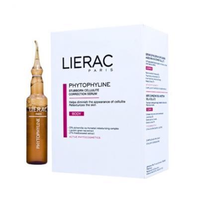 Сыворотка Lierac Phytophyline в ампулах для коррекции целлюлита, 20 х 7,5 мл