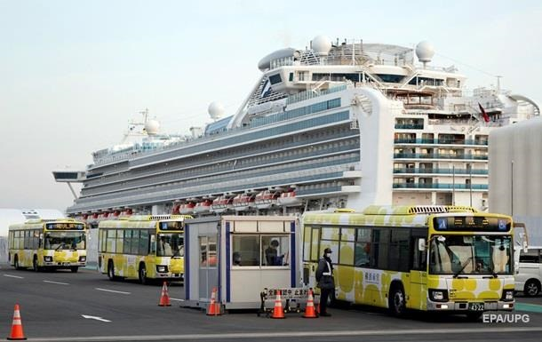 Исследование показало, что коронавирус на лайнере Diamond Princess оставался 17 дней