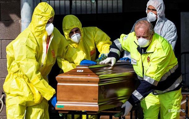 Количество погибших итальянцев от коронавируса превысило 10 000 человек