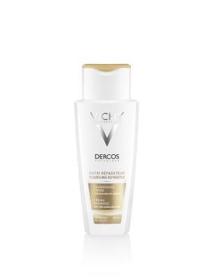 Шампунь Vichy Dercos питательно-восстанавливающий, для сухих и поврежденных волос, 200 мл