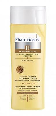 Шампунь Pharmaceris H H-Nutrimelin активный реструктурирующий для сухих поврежденных волос, 250 мл