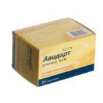 Аводарт капсулы мягк. желат. по 0.5 мг №90 (10х9)