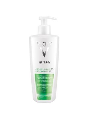 Шампунь Vichy Dercos усиленного действия против перхоти для жирных волос и раздраженной кожи, 390 мл