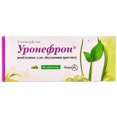 Уронефрон таблетки, п/плен. обол. №60 (10х6)