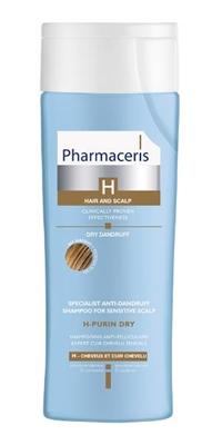 Шампунь Pharmaceris H H-Purin специализированный от перхоти для чувствительной кожи, сухая перхоть, 250 мл
