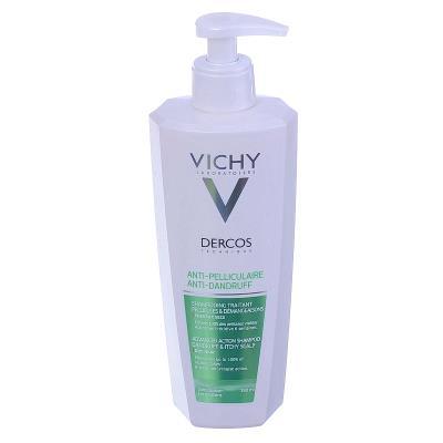 Шампунь Vichy Dercos против перхоти, усиленного действия для сухихи волос, 390 мл
