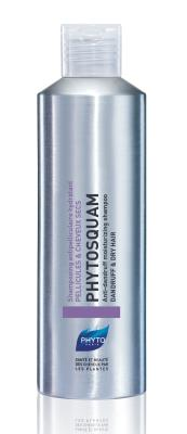 Шампунь Phyto Phytosquam увлажняющий против перхоти, для сухих волос, 200 мл