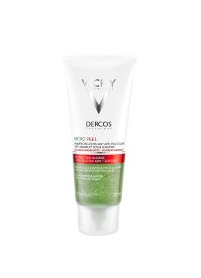 Шампунь-скраб Vichy Dercos Micro Peel для глубокого очищения против стойкой перхоти, 200 мл