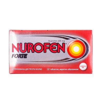 Нурофен форте таблетки, п/о по 400 мг №12