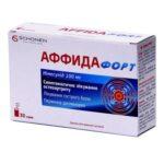 Аффида форт-нимесулид гранулы д/ор. сусп. 100 мг/2 г по 2 г №30 в саше