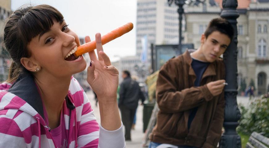 Какие продукты помогают бросить курить