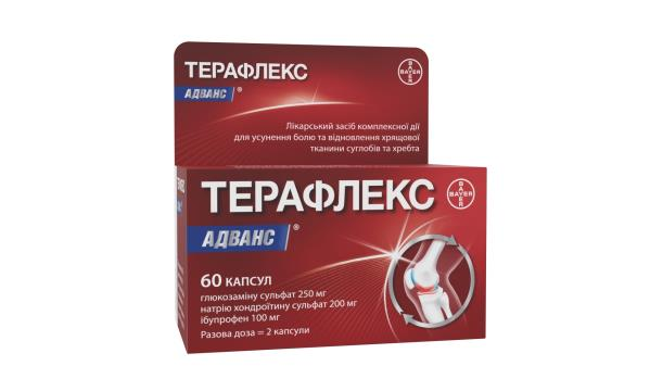 Терафлекс адванс капсулы №60 во флак.