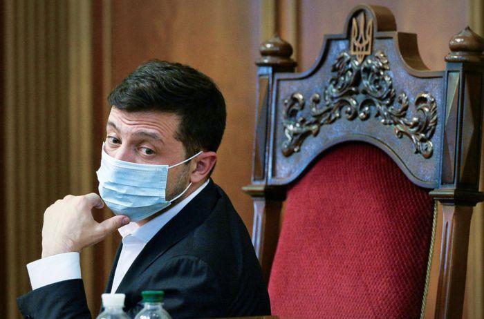 Зеленского ждет двухнедельная изоляция после заражения жены коронавирусом